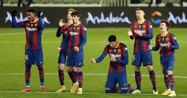 Barca vào Chung kết Siêu cúp Tây Ban Nha sau loạt luân lưu cân não