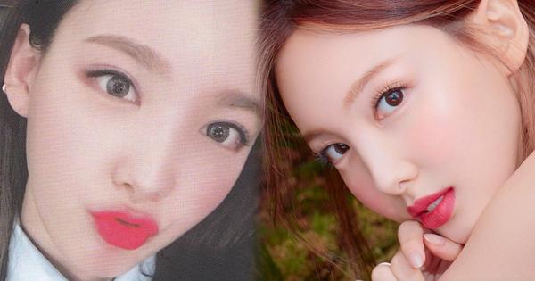 Nayeon đổi dáng lông mày là mặt thanh thoát gấp đôi bình thường, sức mạnh của makeup thật ghê gớm