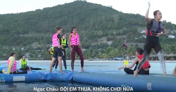 Hoa hậu Ngọc Châu nổi cơn tam bành, liên tục la hét, thậm chí còn xuất hiện cả tiếng *beep* trên truyền hình