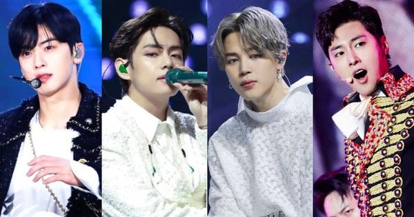 30 nam idol hot nhất hiện nay: BTS 'mở bát' bao trọn top 10, nam thần gen 2 nào chen chân được vào cục diện cực căng?