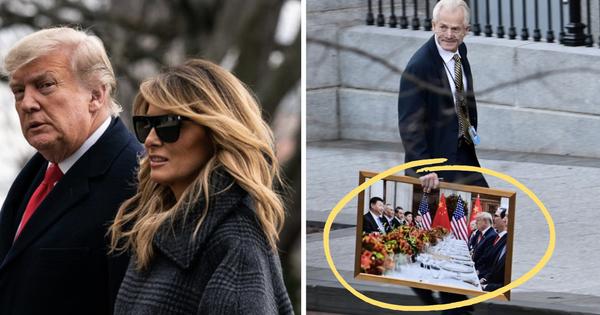 Ít ngày nữa phải chính thức rời Nhà Trắng, bà Melania Trump lặng lẽ sắp xếp đồ vì ''sợ làm chồng nổi giận'', hành lý đang được chuyển ra ngoài