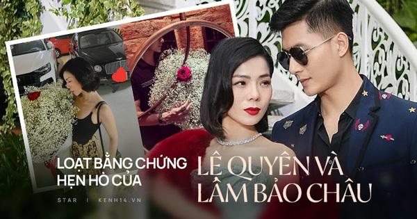 Soi ''hint'' hẹn hò của Lệ Quyên và Lâm Bảo Châu: Kè...