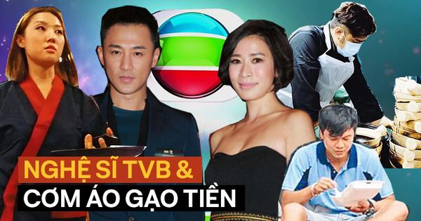 Cuộc sống khốn khổ của diễn viên TVB: Rửa bát thuê, làm vệ sĩ cho idol Kpop, cát-sê Xa Thi Mạn chỉ bằng 1/15 Dương Mịch