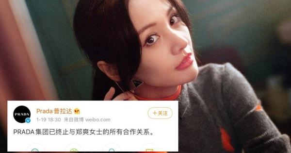 Prada quyết định 'dứt tình' với Trịnh Sảng, chính thức tuyên bố chấm dứt hợp đồng với người đại diện đầy thị phi
