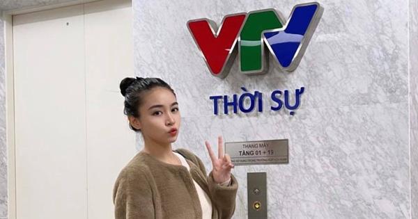 Tiểu thư RMIT thi Hoa hậu Việt Nam bất ngờ khoe làm MC VTV, chưa lên sóng chính thức mà đã gọi hội vào 'ủng hộ'