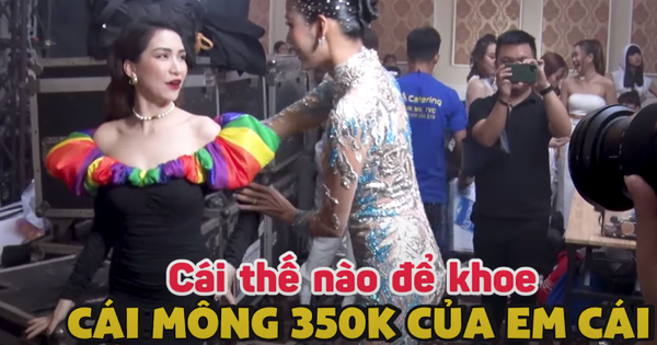 Chết cười khi xem Hòa Minzy hỏi Hoàng Thùy cách tạo dáng: 'Có thế nào để khoe cái mông 350k của em?'