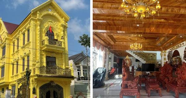 Nhà 3 tầng 'dát vàng' khiến dân tình 'hú hồn', nội thất gỗ bên trong nhìn mà muốn 'xỉu ngang'
