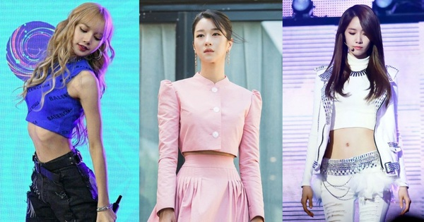 Dàn nữ thần Kbiz nổi tiếng vì... trời sinh ra đã béo không nổi: Lisa xứng danh 'thánh body' nhưng vẫn chưa bằng eo nhỏ kỷ lục của Seo Ye Ji