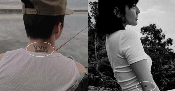 Thực hư thông tin netizen soi ra Sơn Tùng và Hải Tú sở hữu hình xăm đôi giữa nghi vấn hẹn hò