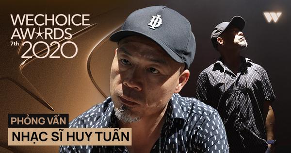 Nhạc sĩ Huy Tuấn khẳng định: 'WeChoice Awards là một trong số ít lễ trao giải giữ được cá tính riêng'