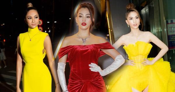 Loạt bộ cánh mãn nhãn nhất tại thảm đỏ WeChoice 2020: Tiểu Vy, H'Hen Niê tinh giản mà xuất sắc không ngờ, Ngọc Trinh 'chặt chém' cực gắt