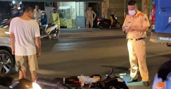 TP.HCM: Nam thanh niên bị xe buýt cán tử vong sau va chạm
