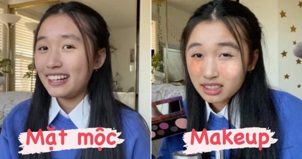 Cuối cùng cũng đến ngày Jenny Huỳnh makeup lần đầu tiên trong đời, kết quả hình như... sai sai?