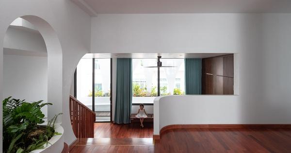 Gia đình yêu thiên nhiên xây nhà 6 tỷ, gộp hai lô đất, thiết kế mặt tiền trồng cây chất khỏi bàn