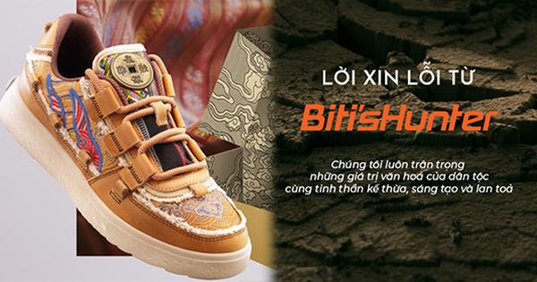 Chính thức: Biti's Hunter xin lỗi vì dùng gấm Taobao, phản ứng của netizen gây bất ngờ
