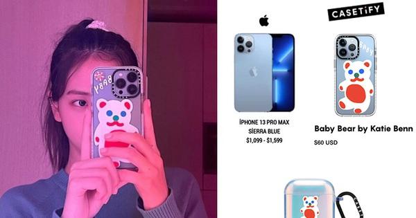 Jisoo (BLACKPINK) không chỉ khoe iPhone 13 mới mà còn khoe cả ốp lưng mới, nghe giá mà muốn 'xỉu ngang'