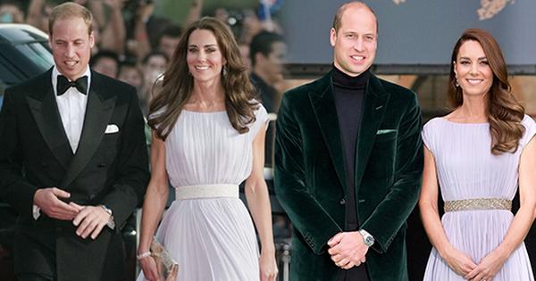 Cặp đôi hoàng gia sau 10 năm: Công nương Kate diện váy cũ vẫn trẻ đẹp, Hoàng tử William lại hói dần đều