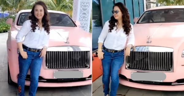 CEO Đại Nam cho dân tình 'rửa mắt' với Rolls-Royce hồng 'bánh bèo' mui trần 2 cửa, phán luôn: Có mấy triệu đô, rẻ mà!