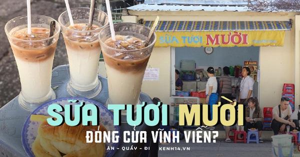 Xôn xao tin tiệm sữa tươi nổi tiếng nhất Sài Gòn đóng cửa vĩnh viễn, dân mạng thở dài: Covid lấy đi quá nhiều thứ thân thuộc!