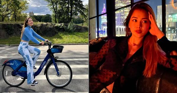 Chi Pu và cuộc sống 'chill chill' ở Mỹ: Sáng đạp xe dạo New York, tối lên đồ xuyên thấu đi nghe nhạc xập xình