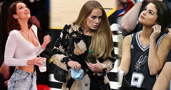 Sao đi xem bóng rổ mà cũng viral: Selena Gomez ghi dấu tận 4 lần, Bella Hadid quá mức nóng bỏng, sao Sunsilk còn chưa mời Adele làm đại sứ thương hiệu?