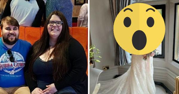 Được bạn trai cầu hôn nhưng tự ti vì nặng 170kg, cô gái nỗ lực giảm cân rồi khiến ai nấy choáng váng trong ngày cưới