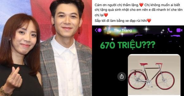 Thu Trang 'chốt đơn' tặng Anh Tú chiếc xe đạp nhân dịp sinh nhật, nếu biết giá 670 triệu liệu có 'bật ngửa'?
