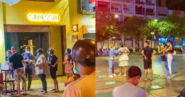 Bà Hàng Xóm xuống phố 'thám thính' Sài Gòn đêm nay: Trai gái vẫn tụ về phố đi bộ, chỗ đông nhất phải xếp hàng cả trăm mét!