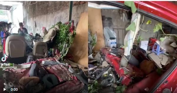 Clip ô tô biến dạng, nát bét hoàn toàn nghi của nhóm YouTuber Nam Ok sau vụ tai nạn thảm khốc và sự thật phía sau