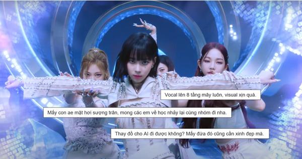 Bài mới của aespa nghe như 10 bài ghép lại nhưng Vnet vẫn đồng loạt khen đỉnh, Knet kêu AI về học nhảy lại?