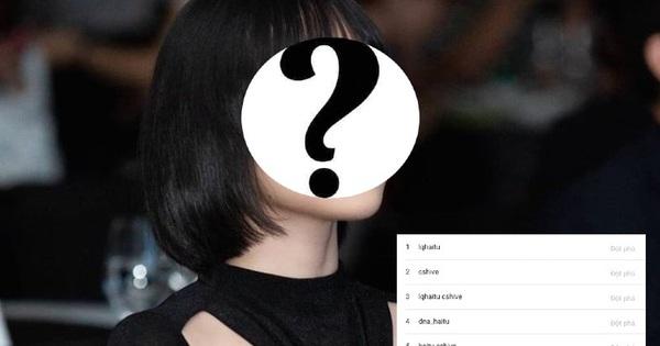 Từ khoá 'lqhaitu' liên quan đến nghi vấn nữ diễn viên Vbiz lộ tài khoản chat sex trên các web đen tăng đột biến