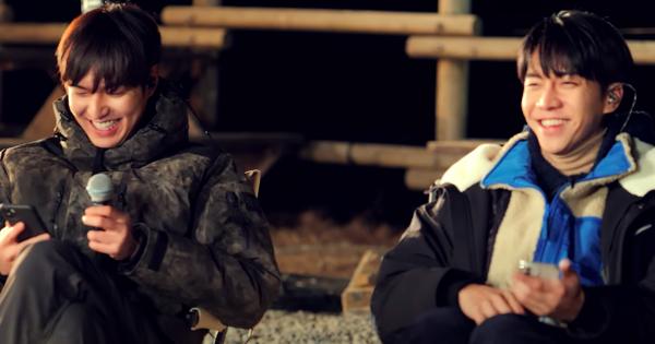Lee Min Ho song ca cùng Lee Seung Gi bản hit Aloha khiến fan muốn 'xỉu' vì nội dung... quá đẹp trai!