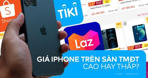 Thị trường iPhone đầu năm trên các sàn thương mại điện tử cực kỳ sôi động, nhưng có rẻ hơn mua ở đại lý bán lẻ?