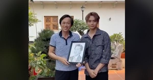 Anh chàng hoạ sĩ hot TikToker vẽ tặng 'bố' Hoài Linh, sau 1 ngày thu về lượt view và tương tác siêu khủng
