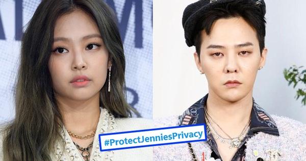 Jennie bị ''ném đá'' sau tin hẹn hò G-Dragon khiến fan tức giận, ''khủng bố'' đòi YG bảo vệ gà nhà quá tải hộp thư