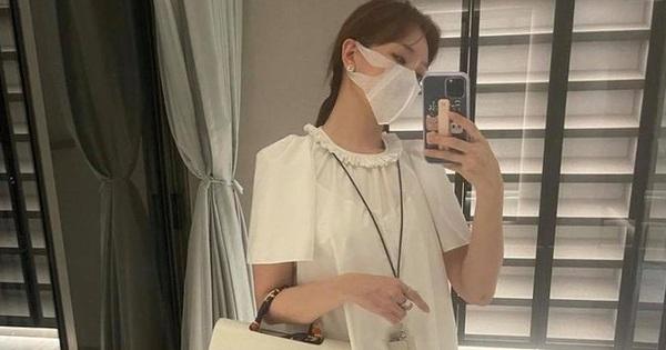 Hari Won khoe 1 góc nhà mới sắp hoàn thiện, ngờ đâu dân tình lại chú ý cách ăn mặc và chụp ảnh là lạ hậu nghi vấn mang thai