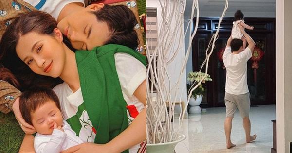 Đông Nhi tung ảnh siêu cưng của Ông Cao Thắng và con gái, tuyên bố thế lực nhí Winnie mới chính là 'nóc nhà'
