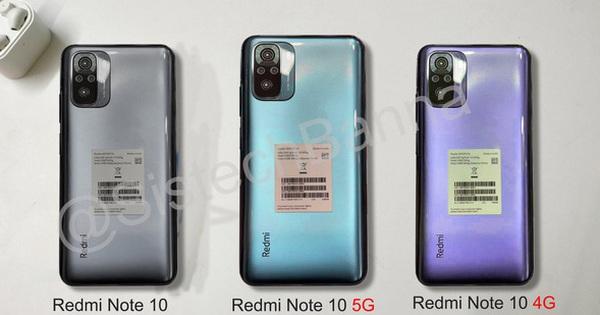 Đây là Redmi Note 10: Thiết kế giống Mi 10T, màn hình AMOLED, Snapdragon 768, ra mắt ngày 4/3