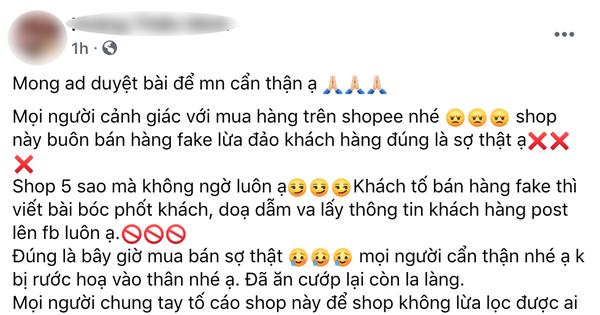 Kỳ công bóc phốt shop mỹ phẩm uy tín bán hàng fake, chủ thớt lại bị netizen ''ném đá'' ngược đau điếng