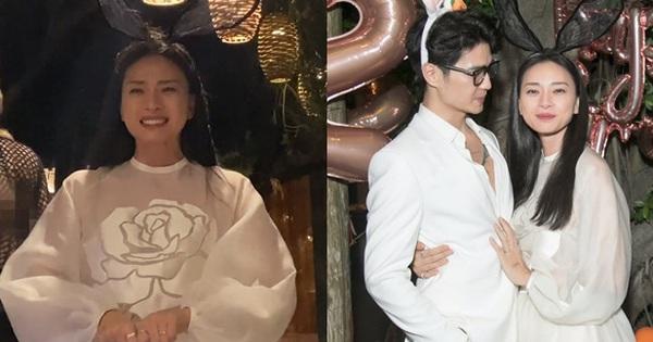 Toàn cảnh tiệc sinh nhật của Ngô Thanh Vân: Nàng ôm chặt eo Huy Trần, khóc nức nở bày tỏ 'Tôi có Huy, tôi rất hạnh phúc!'