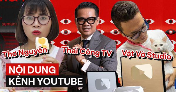 Bạn biết gì về những kênh YouTube có chỉ số ''khủng'' hàng đầu Việt Nam?