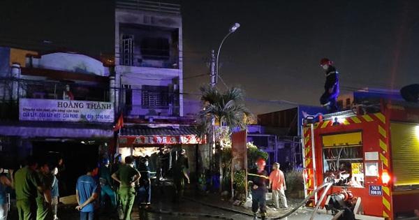 Nhà 2 tầng ở Sài Gòn bốc cháy, 2 nữ sinh viên thoát nạn nhờ tiếng đập cửa của tài xế Grab