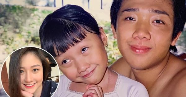 Em gái Trấn Thành tung ảnh hiếm chúc mừng sinh nhật anh trai, ai ngờ chiếm luôn spotlight của nhân vật chính