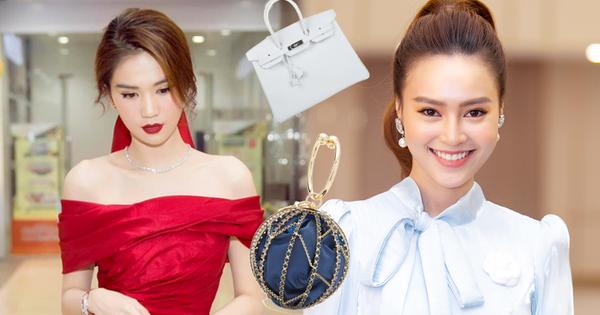 Ngọc Trinh, Khánh Linh thi nhau sắm đồ hiệu đón Tết nhưng trùm cuối lại là Lan Ngọc với 2 chiếc Hermès đắt đỏ