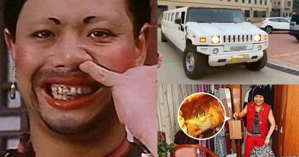 Nam phụ xấu nhất lịch sử phim Châu Tinh Trì giàu sang ngỡ ngàng: Gia tài bạc tỷ, đi siêu xe thưởng Tết cho nhân viên