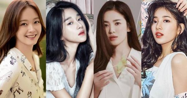 Tranh cãi BXH 25 nữ diễn viên đẹp nhất xứ Hàn: Song Hye Kyo - Jeon Ji Hyun hạng thấp bất ngờ, No.1 là ai mà khiến Knet gật gù?