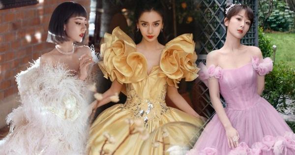Soi váy áo sao nữ Đêm hội Weibo: Nhiệt Ba ''chặt chém'' ác liệt, Châu Đông Vũ - Tống Thiến mặc gì thế này?