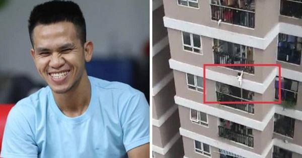 Phân tích vụ cháu bé ngã từ tầng 12: Chính xác thì người hùng Nguyễn Ngọc Mạnh phải đỡ một lực lớn bao nhiêu?