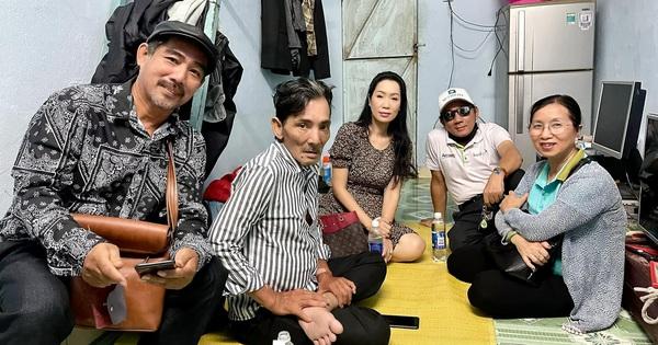 NS Thương Tín đã xuất viện sau 3 ngày đột quỵ, hình ảnh căn phòng trọ vỏn vẹn 20m2 tá túc cùng vợ gây xót xa