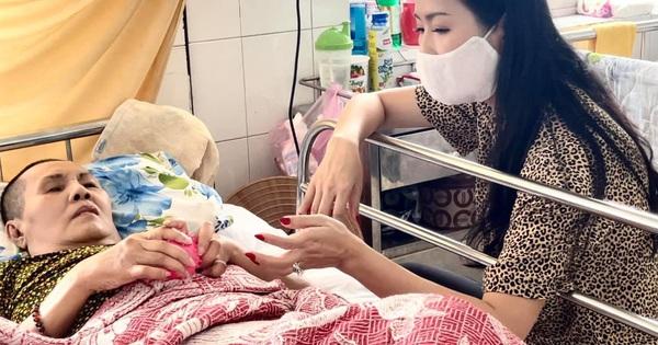 NS Hoàng Lan 7 tháng nằm trên giường bệnh không người thân chăm sóc, Trịnh Kim Chi xót xa kêu cứu giúp